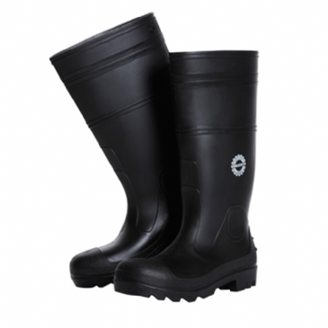 Blaklader 2420 Safety Rubber Wellington Boot (Black)